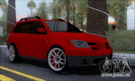 Mitsubishi Outlander Turbo 2005 pour GTA San Andreas