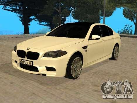 BMW M5 F10 V2.0 pour GTA San Andreas