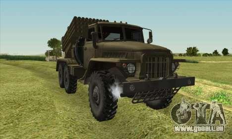 URAL 375 BM-21 pour GTA San Andreas