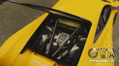McLaren MP4-12C GT3 für GTA 4 Seitenansicht