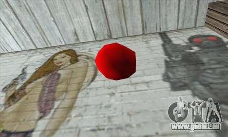 Apple Bomb pour GTA San Andreas deuxième écran