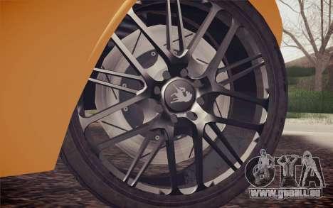 Equus Bass 770 pour GTA San Andreas sur la vue arrière gauche
