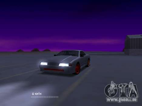 Elegy Stock Glases für GTA San Andreas