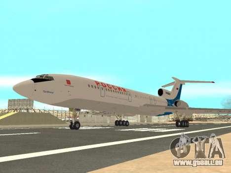 Tu-154 B-2 SCC Russland für GTA San Andreas rechten Ansicht