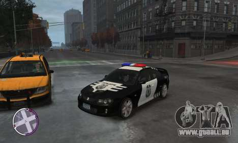 Holden Monaro CV8-R Police pour GTA 4