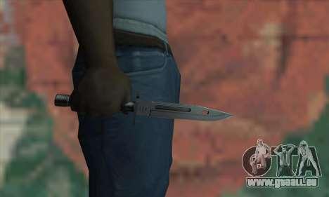 M9 Knife für GTA San Andreas dritten Screenshot