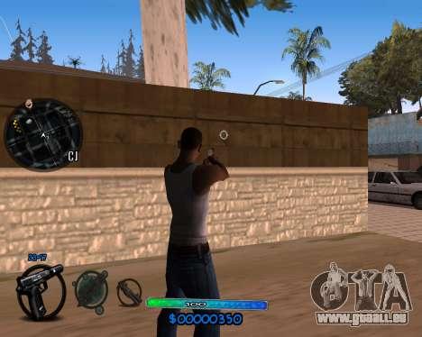 C-HUD by Vadya für GTA San Andreas zweiten Screenshot