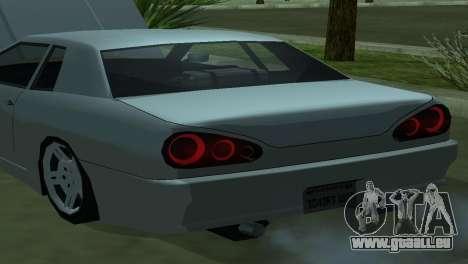Elegy 280sx pour GTA San Andreas vue de droite
