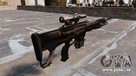 Fusil de sniper DSG-1 pour GTA 4 secondes d'écran