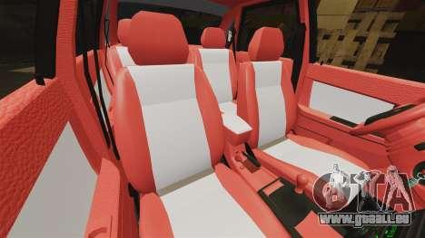 VAZ-2170 Dubaï pour GTA 4 est une vue de dessous