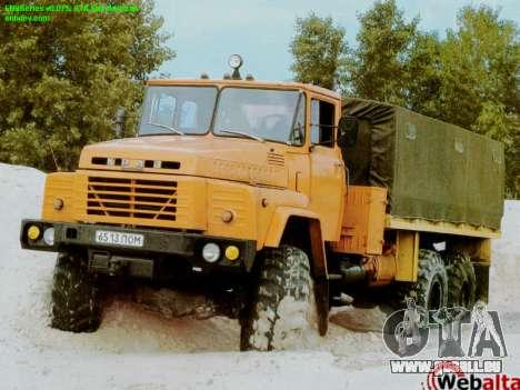 Boot-screens sowjetischen LKW für GTA San Andreas zweiten Screenshot