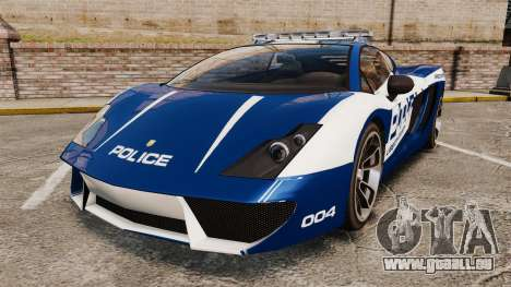 GTA V Pagassi Vacca Police pour GTA 4