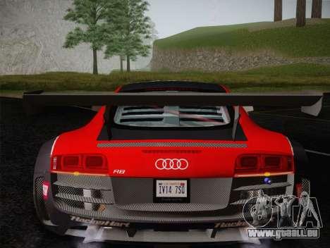 Audi R8 LMS Ultra Old Vinyls für GTA San Andreas Unteransicht