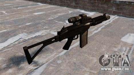 Fusil automatique DSA FN FAL pour GTA 4 secondes d'écran