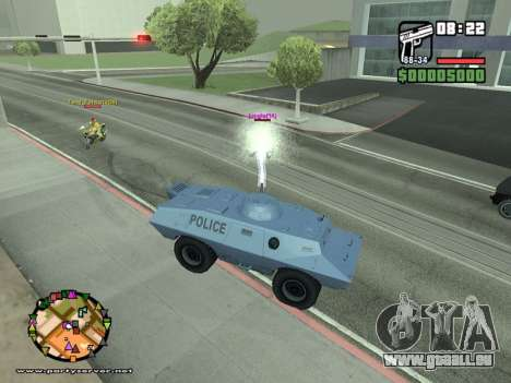 SA-MP 0.3z für GTA San Andreas zehnten Screenshot
