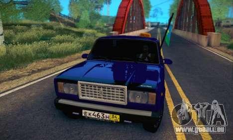 VAZ 2107 VDV pour GTA San Andreas