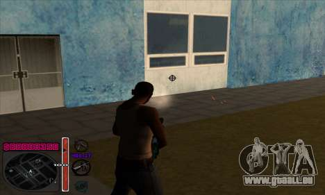 C-HUD by Andy Cardozo für GTA San Andreas her Screenshot