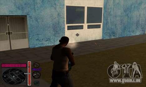 C-HUD by Andy Cardozo pour GTA San Andreas quatrième écran