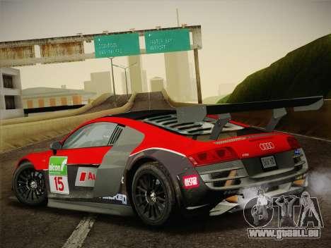 Audi R8 LMS Ultra Old Vinyls für GTA San Andreas Innen