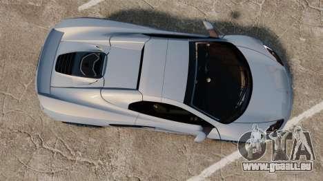 McLaren MP4-12C Spider 2013 für GTA 4 rechte Ansicht