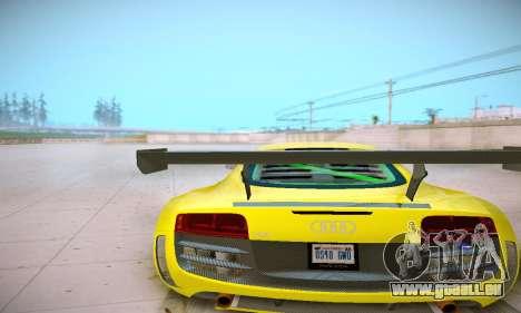 Audi R8 LMS Ultra v1.0.0 pour GTA San Andreas vue arrière