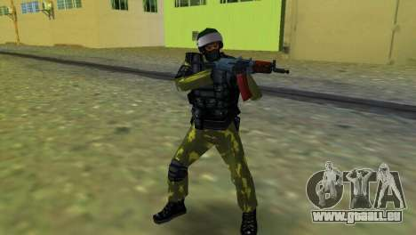 Soldat der Special Forces für GTA Vice City
