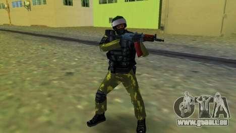 Soldat der Special Forces für GTA Vice City
