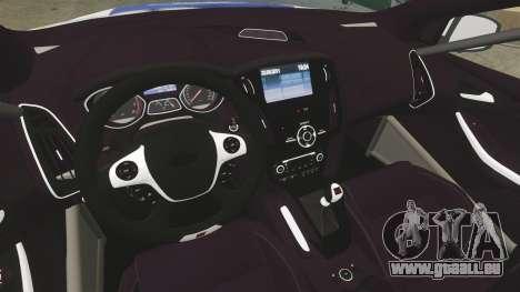 Ford Focus ST Rally pour GTA 4 Vue arrière