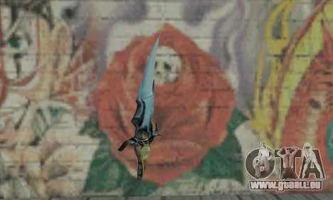 Couteau de Prince of Persia pour GTA San Andreas