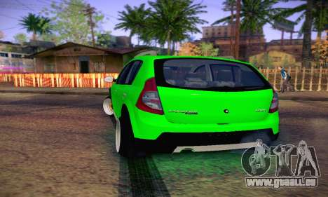 Dacia Sandero für GTA San Andreas rechten Ansicht