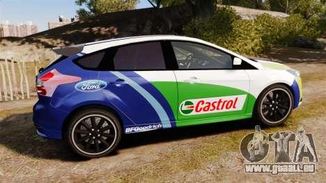 Ford Focus ST Rally für GTA 4 linke Ansicht