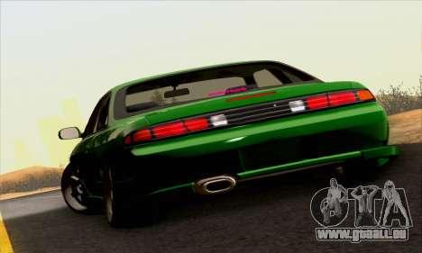 Nissan Silvia S14 Stance für GTA San Andreas Rückansicht