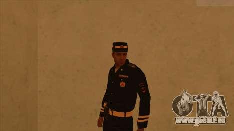 Les peaux de la police et de l'armée pour GTA San Andreas troisième écran
