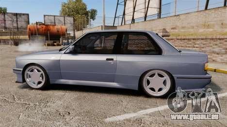 BMW M3 E30 pour GTA 4 est une gauche