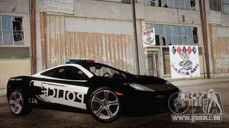 McLaren MP4-12C Police Car für GTA San Andreas