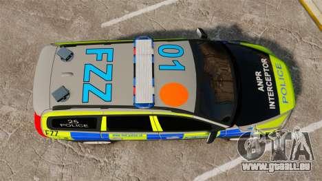 Volvo XC70 ANPR Interceptor [ELS] pour GTA 4 est un droit