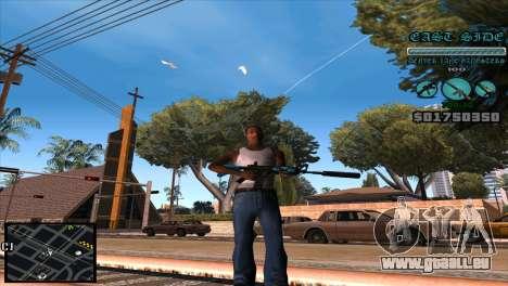 C-HUD Lane Gangsters für GTA San Andreas