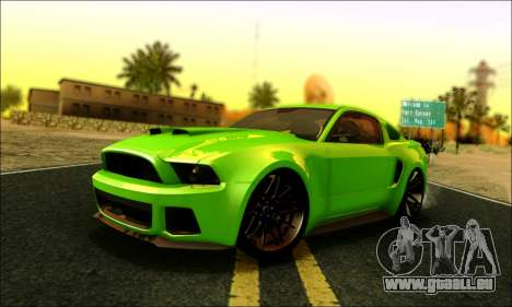 Ford Mustang GT 2013 v2 pour GTA San Andreas