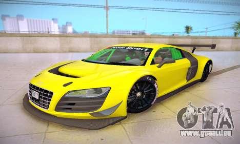Audi R8 LMS Ultra v1.0.0 pour GTA San Andreas