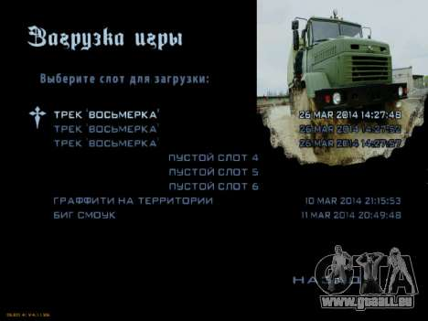Boot-screens sowjetischen LKW für GTA San Andreas achten Screenshot