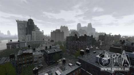 Météo New York pour GTA 4 secondes d'écran