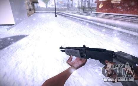 Spas 12 pour GTA San Andreas deuxième écran