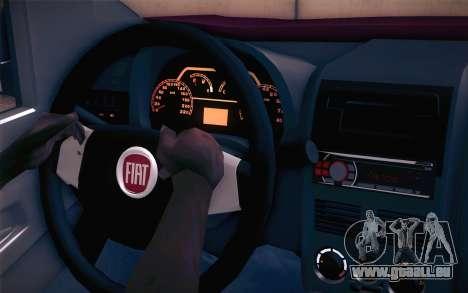 Fiat Fiorino für GTA San Andreas rechten Ansicht