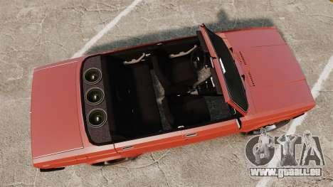 VAZ-2107 Donk Style pour GTA 4 est un droit