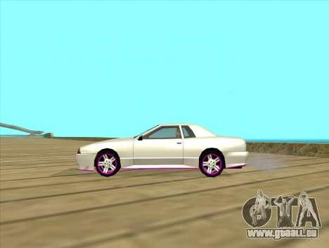 Elegy by MegaPixel pour GTA San Andreas vue de droite
