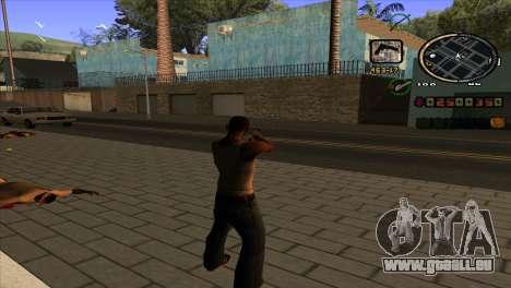 News C-HUD pour GTA San Andreas deuxième écran