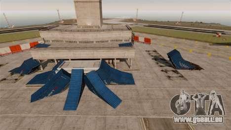 Trick-Park am Flughafen für GTA 4 Sekunden Bildschirm