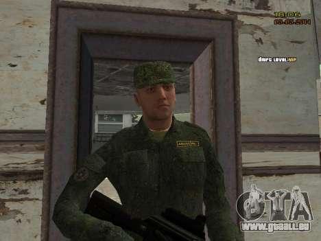 L'armée russe moderne pour GTA San Andreas dixième écran
