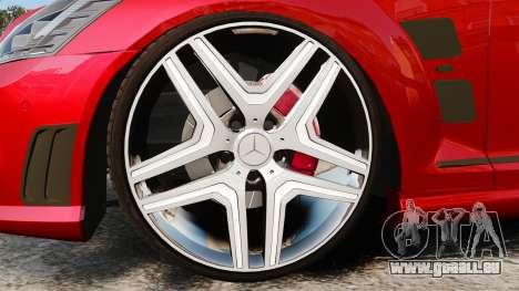 Mercedes-Benz S65 (W221) AMG für GTA 4 Rückansicht