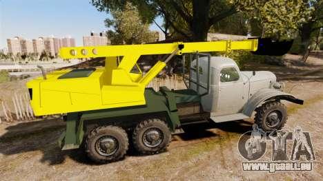 ZIL-157 GVK-32 für GTA 4 linke Ansicht